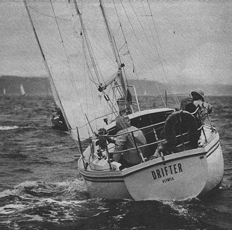 "Drifter in the 1979 issue of ""Sailing"" magazine"